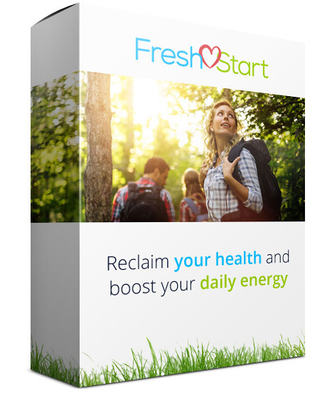 Box: Fresh Start program - Reclaim your health and boost your daily energy